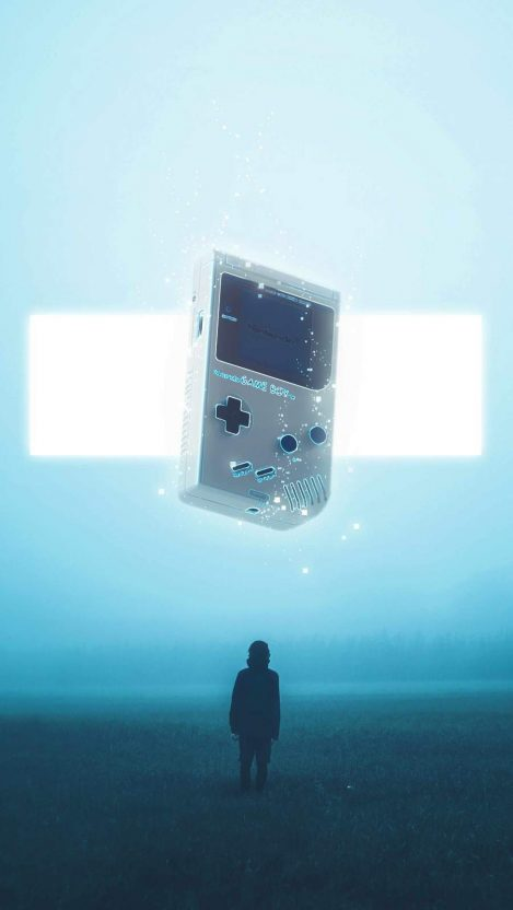 Game Boy iPhone Wallpaper