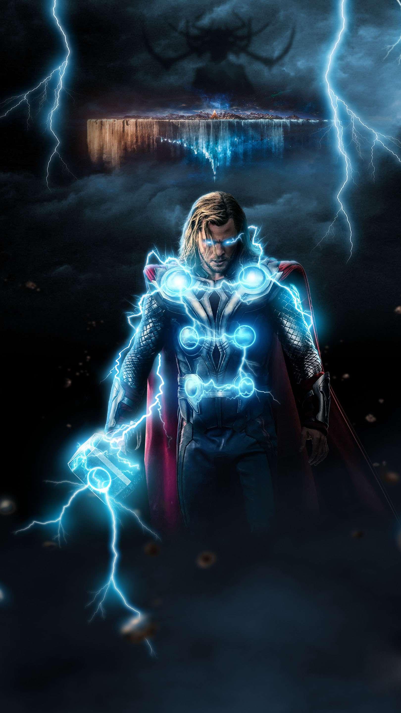 God of Thunder iPhone Wallpaper
