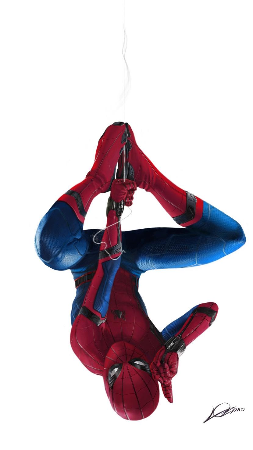 Hello Spiderman iPhone Wallpaper