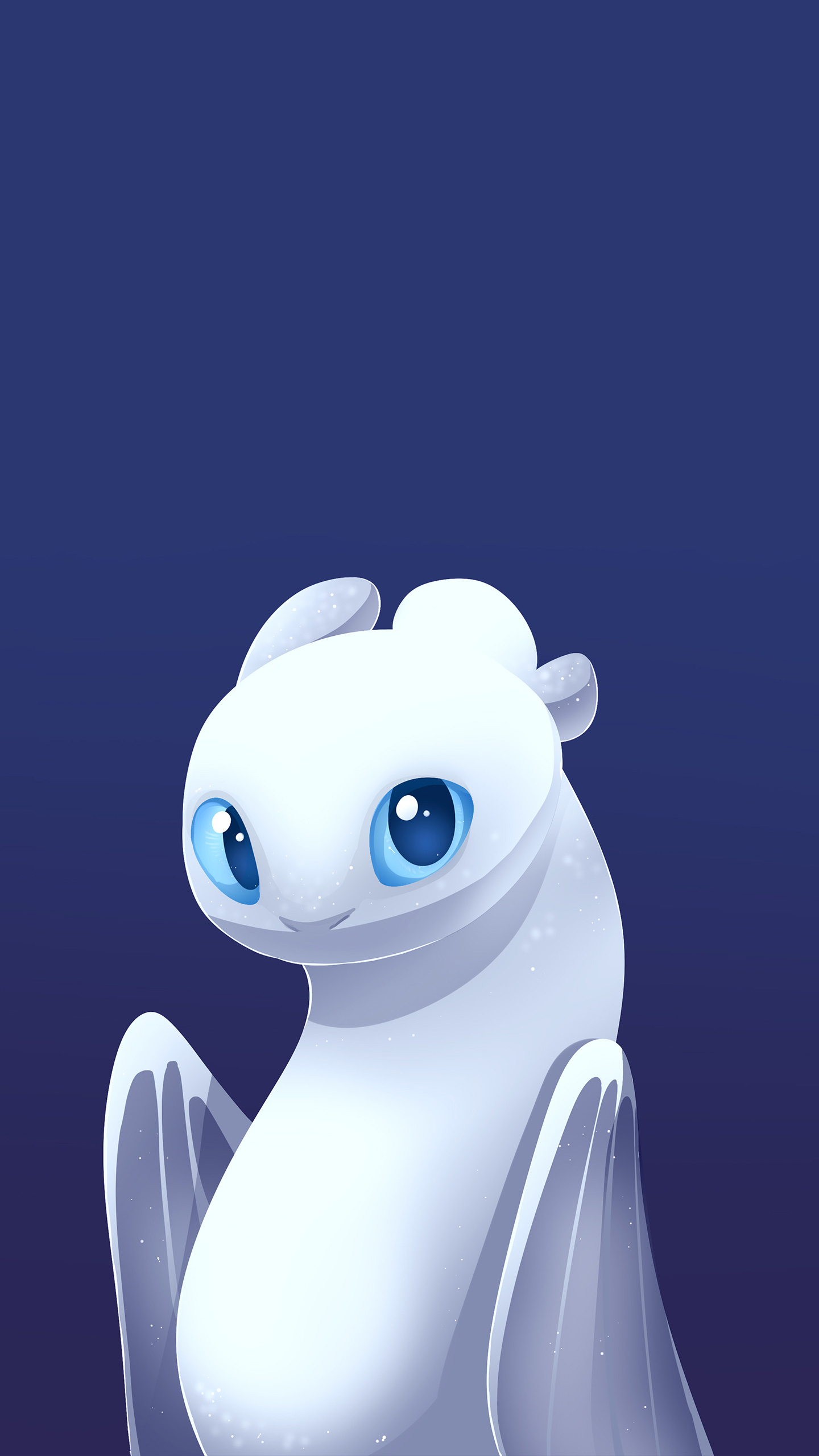 How to Train Your Dragon The Hidden World White Fury iPhone Wallpaper