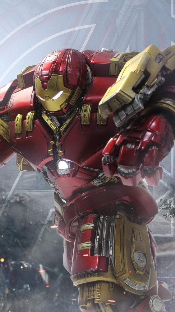 Hulkbuster Bruce Banner iPhone Wallpaper