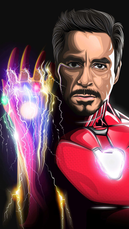 I am Iron Man Sacrifice Endgame iPhone Wallpaper