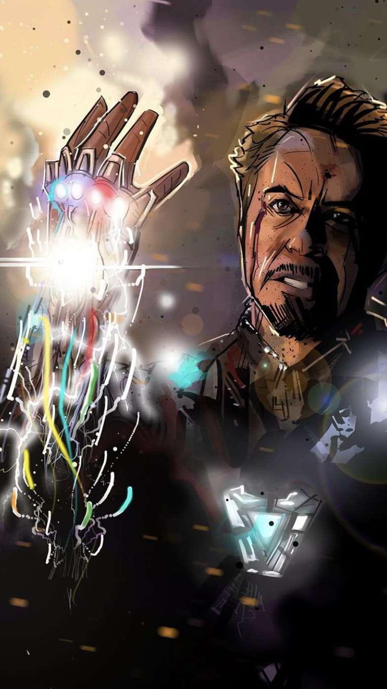 I am Iron Man Snap iPh...