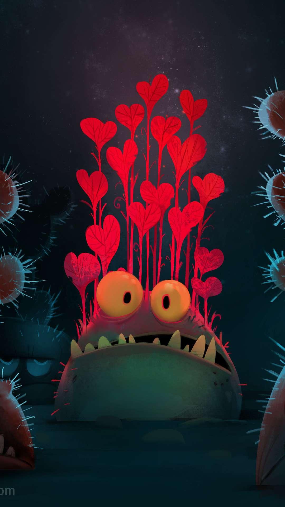 In Love iPhone Wallpaper