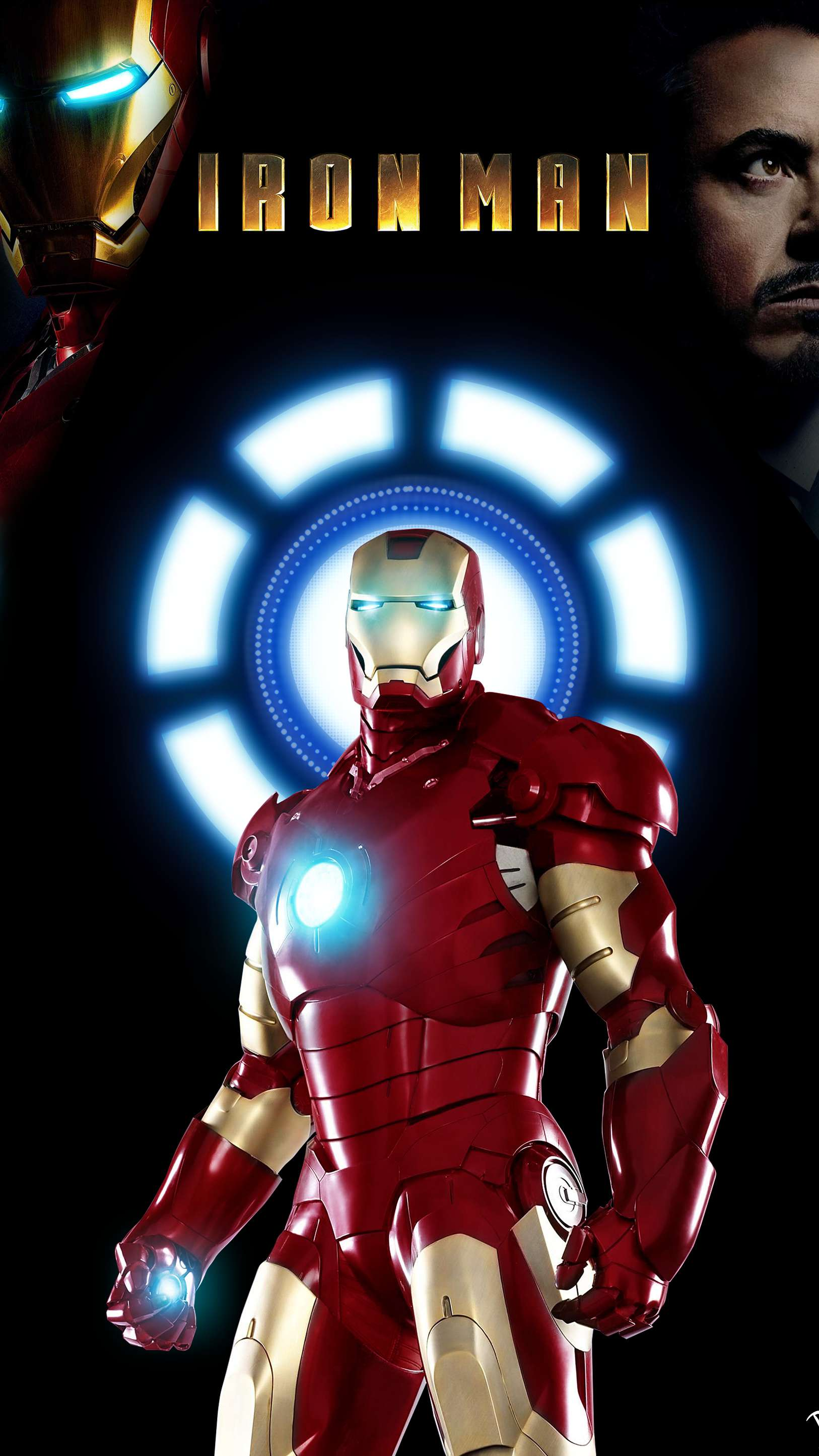 Iron Man Armor Legacy iPhone Wallpaper