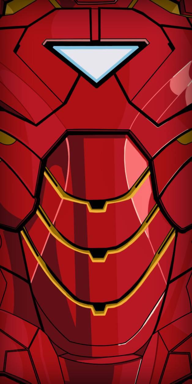 Iron Man Armor MK 6 iPhone Wallpaper