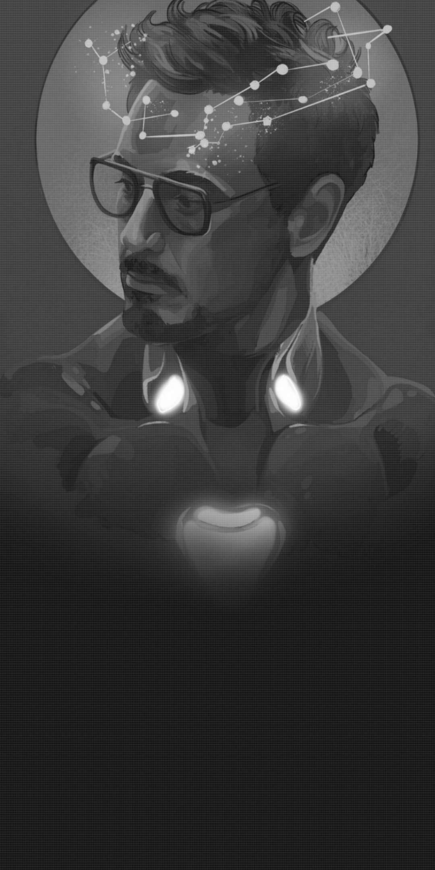 Iron Man Dark iPhone Wallpaper