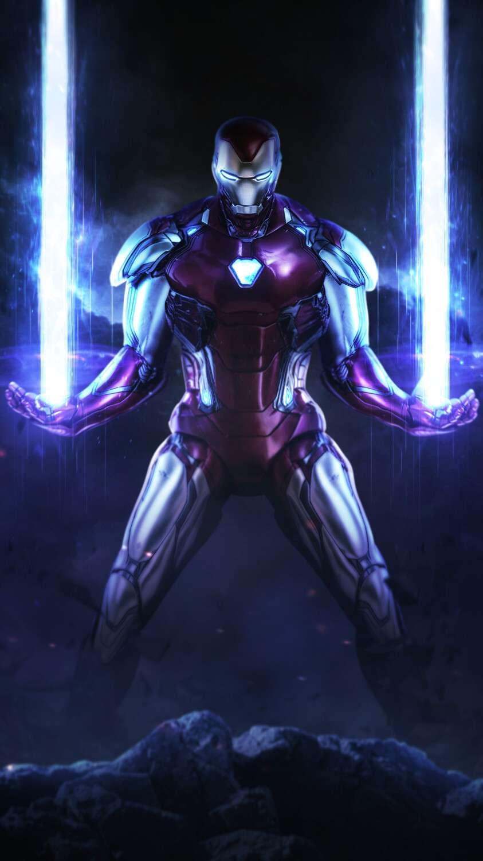 Iron Man God Mode iPhone Wallpaper
