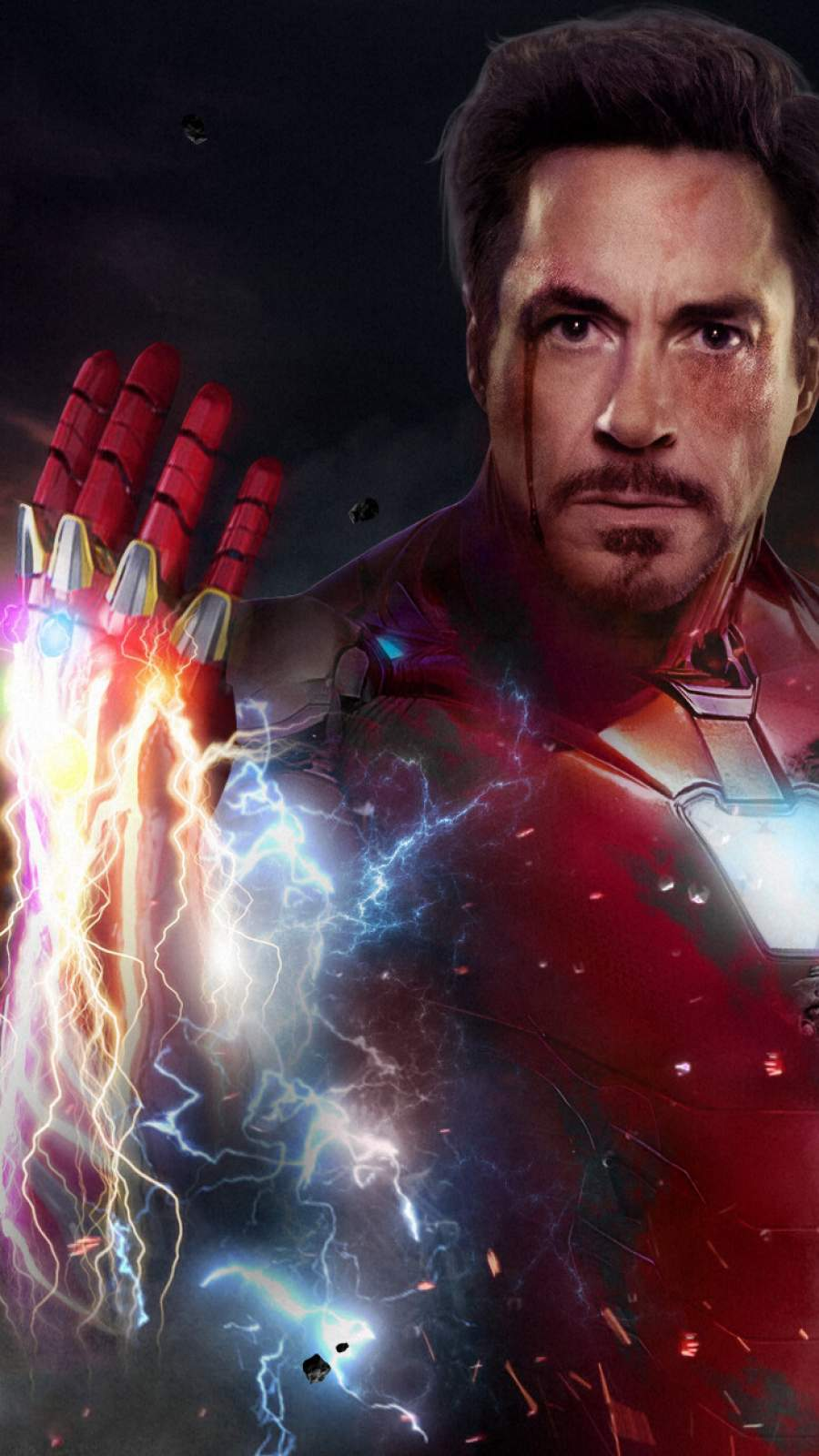 Iron Man Infinity Stones iPhone Wallpaper