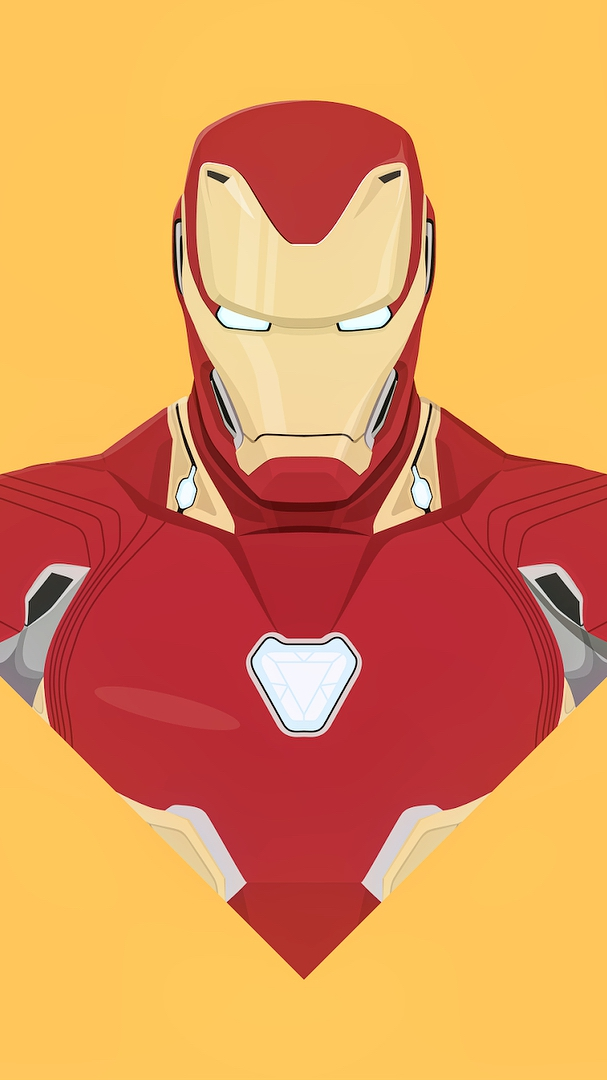 Iron Man MK 86 Armor Art iPhone Wallpaper