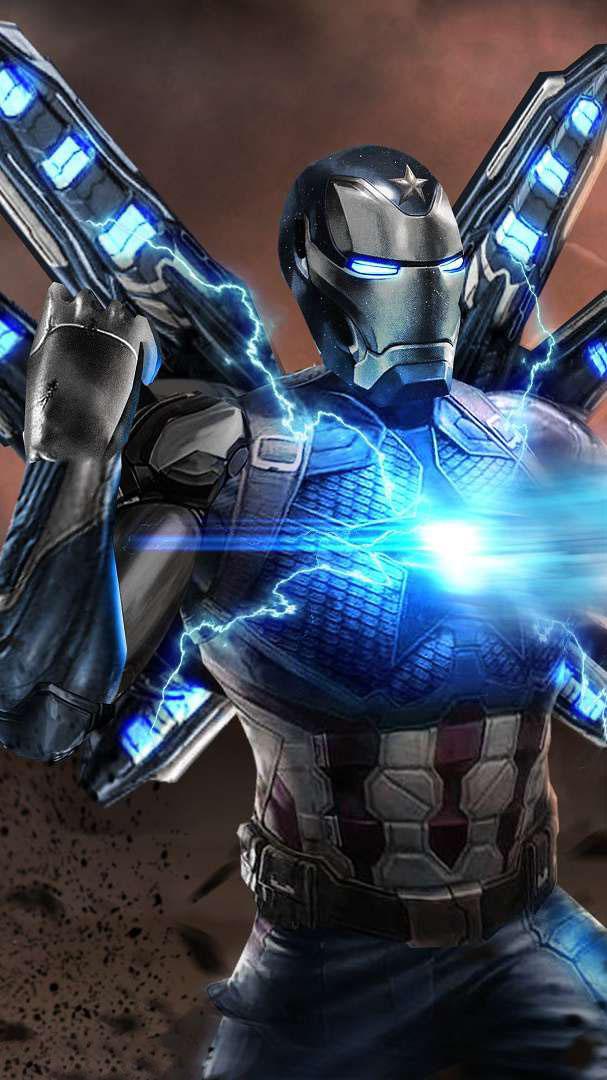 Iron Man Nanotech Armor iPhone Wallpaper