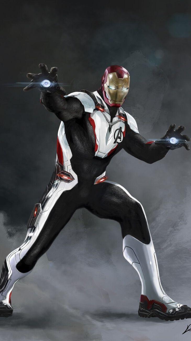 Iron Man Quantum Suit iPhone Wallpaper