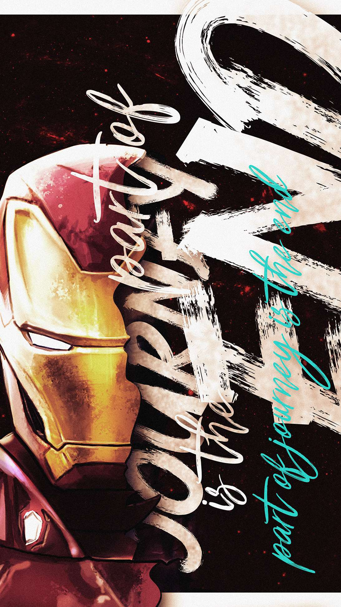 Iron Man Quote iPhone Wallpaper