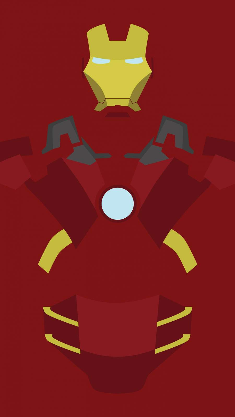 Iron Man Simple iPhone Wallpaper