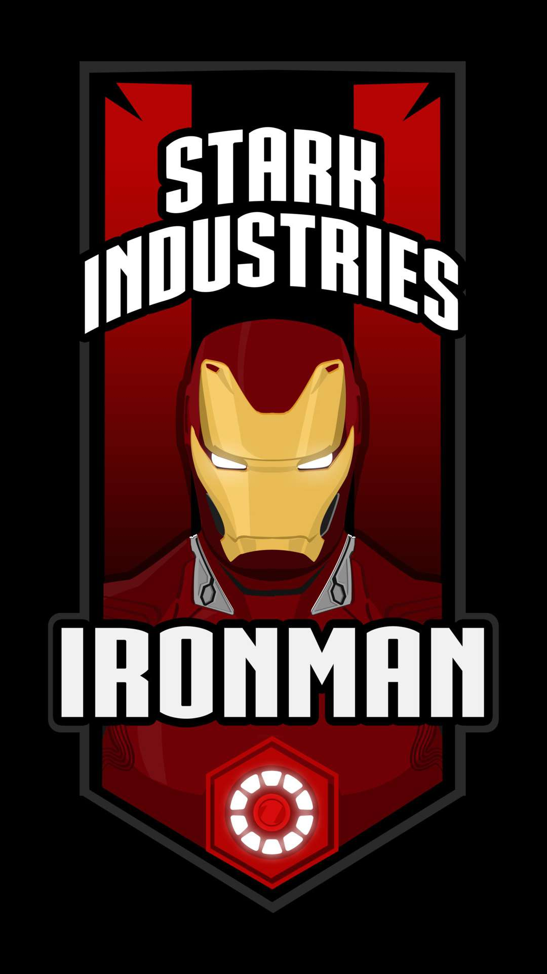Iron Man Stark Industries iPhone Wallpaper