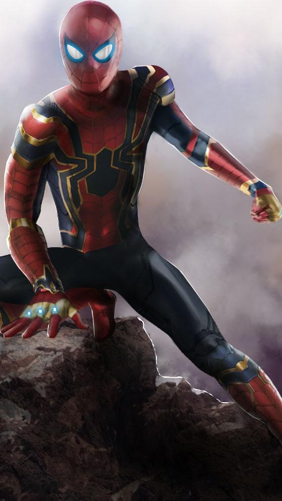 Iron spiderman endgame iphone wallpaper iphone wallpapers - Spiderman and ironman wallpaper ...