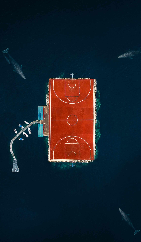 Island of Soccer iPhone Wallpaper
