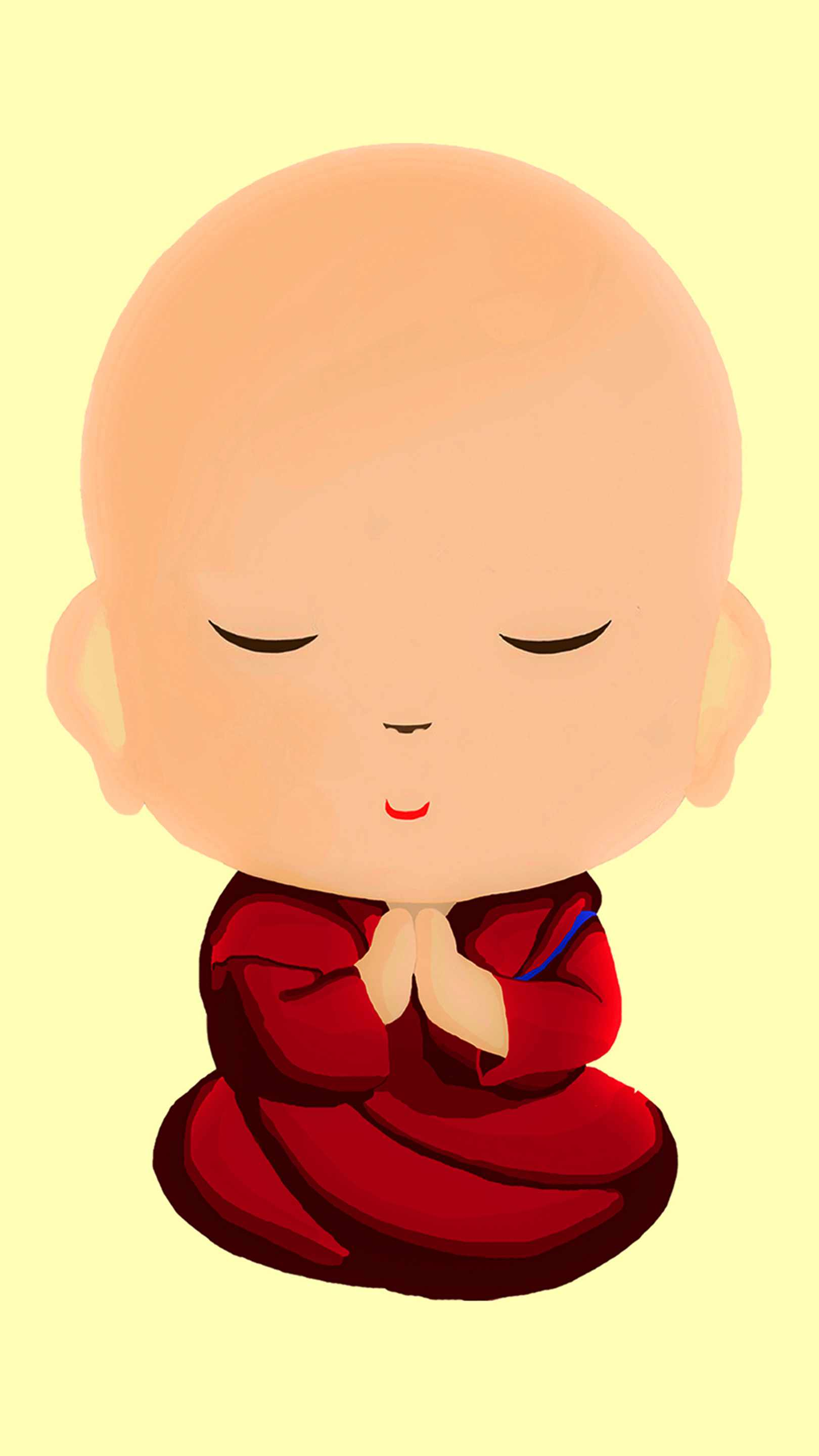 Little Buddha iPhone Wallpaper