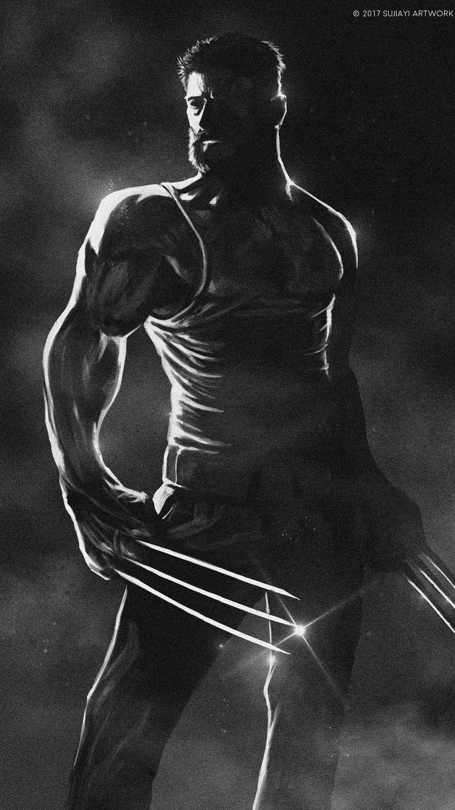 Logan Wolverine iPhone Wallpaper