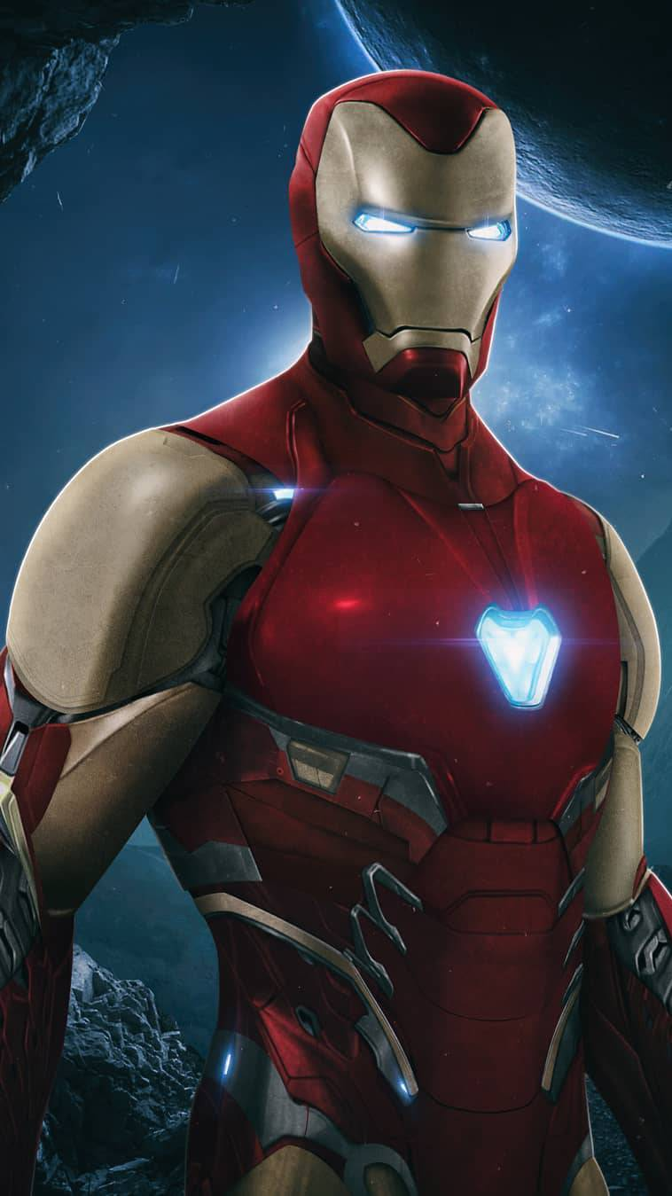 Mark 85 Armor Iron Man iPhone Wallpaper