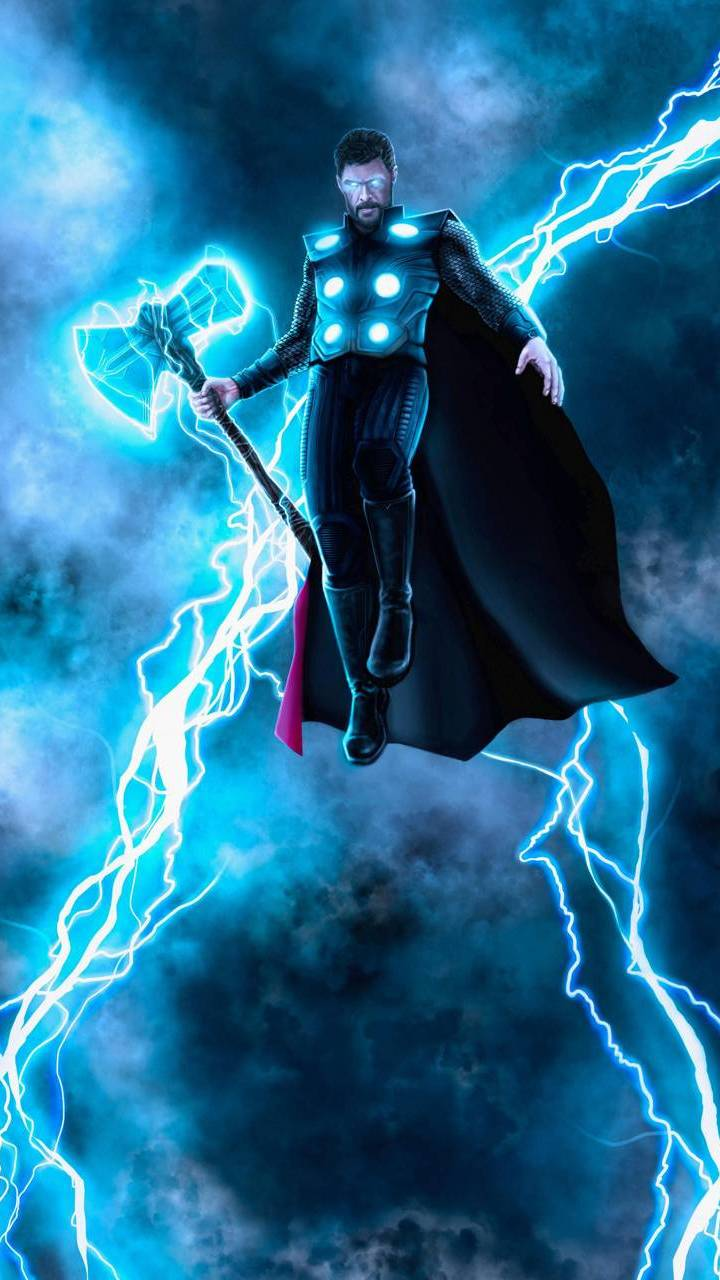 Mighty Thor iPhone Wallpaper
