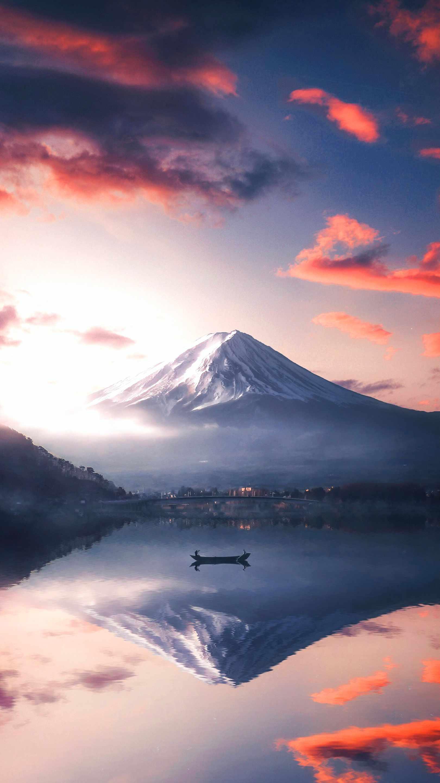 Mount Fuji Adventures iPhone Wallpaper