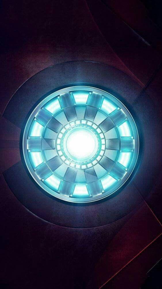 Original Arc Reactor iPhone Wallpaper