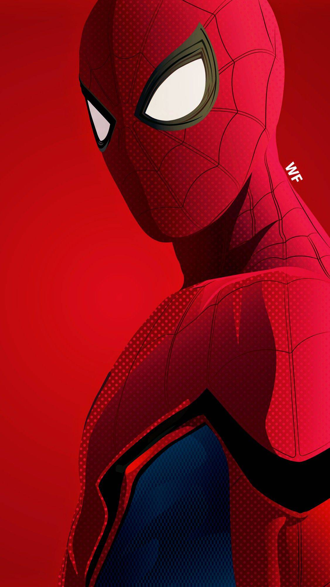 Red Spiderman iPhone Wallpaper - iPhone Wallpapers ...