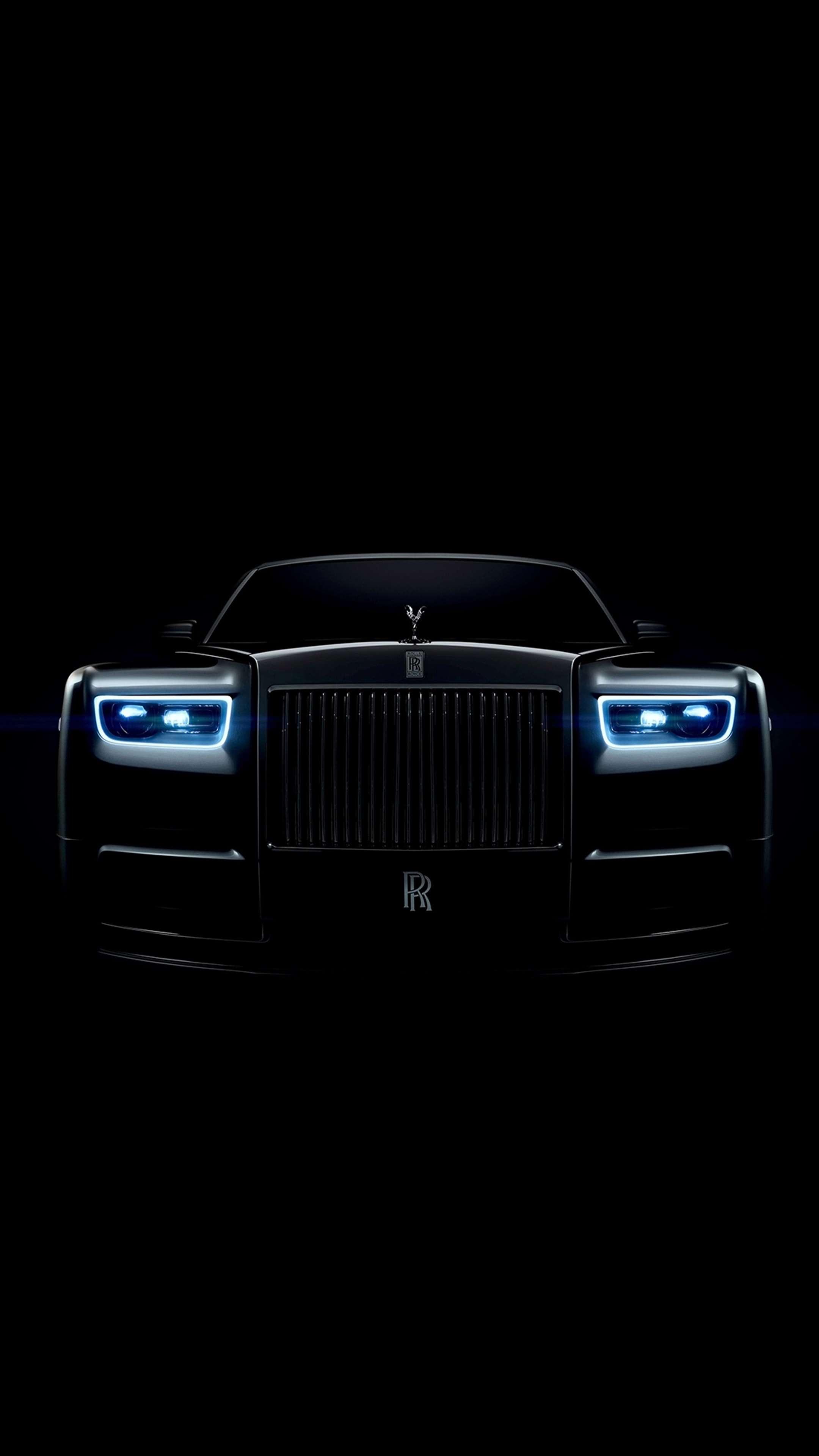 Rolls Royce Phantom Dark iPhone Wallpaper