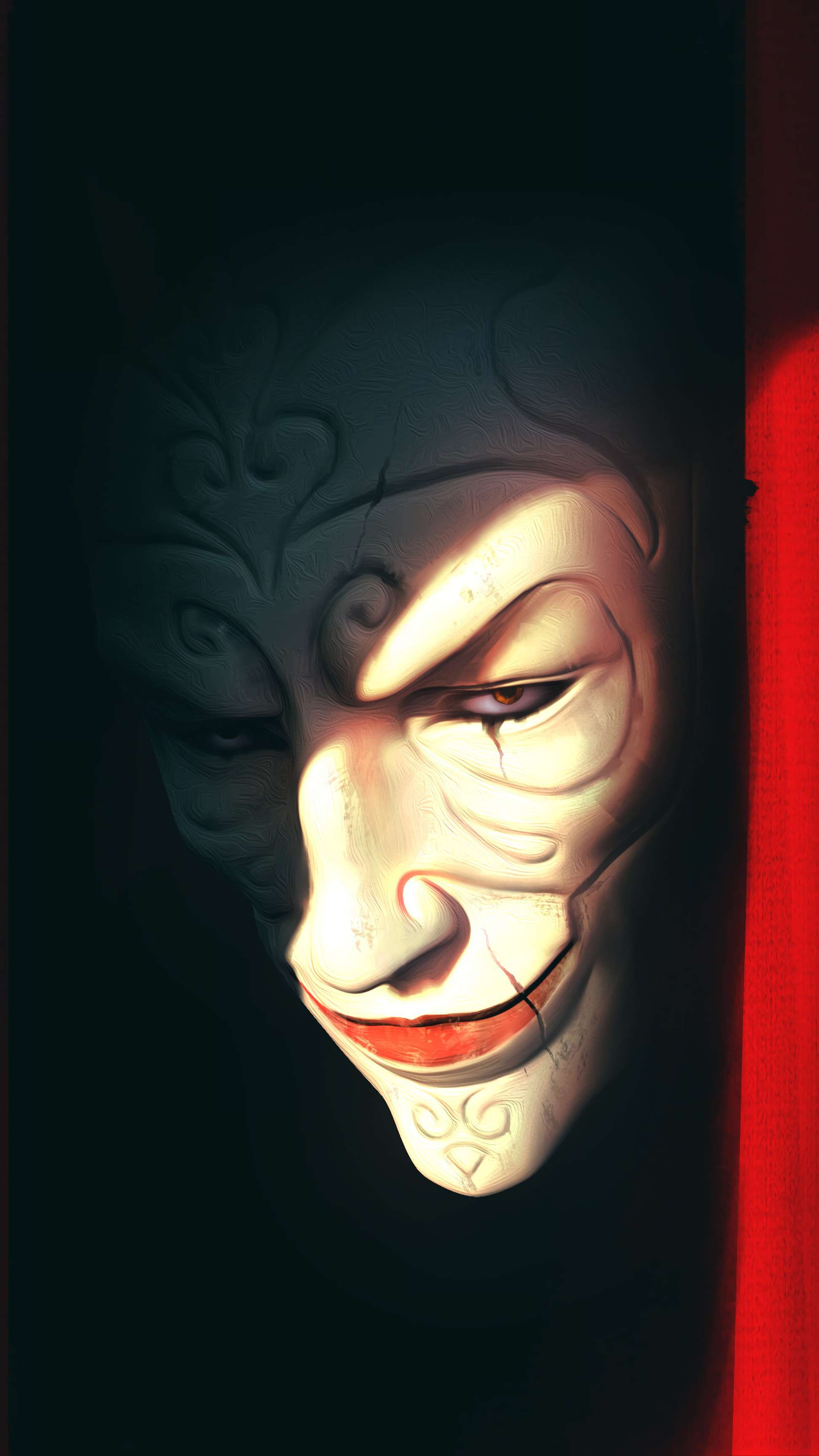Scary Clown iPhone Wallpaper