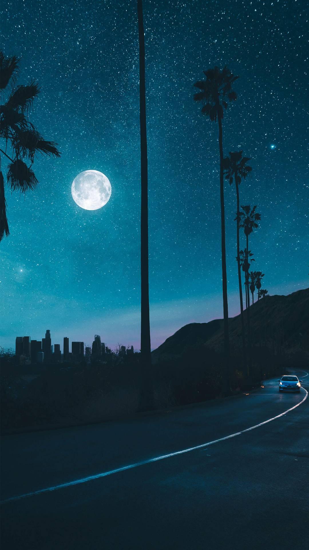 Sky Full Of Stars iPhone Wallpaper