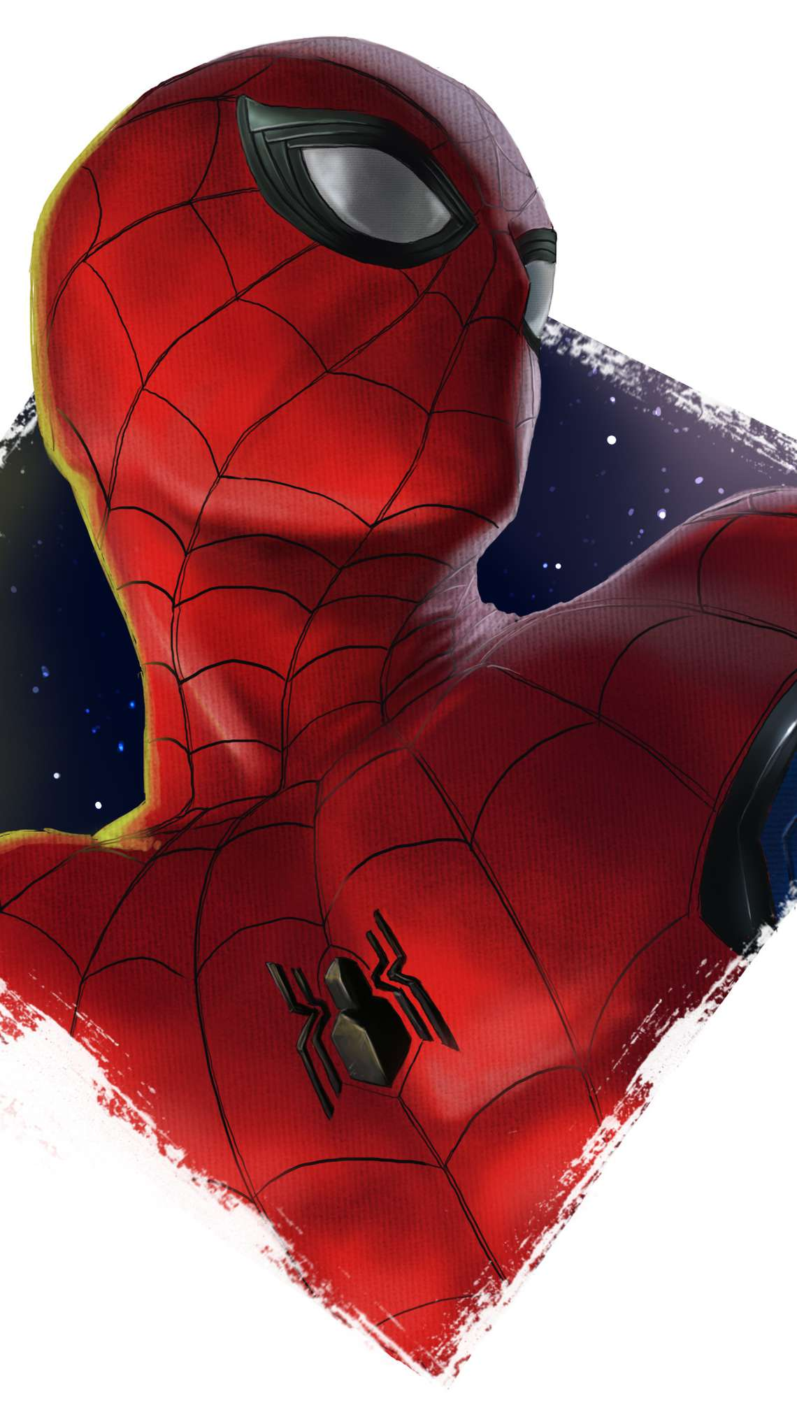 Spider Man Art iPhone Wallpaper