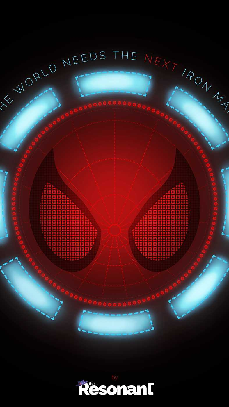 Spider Man Reactor iPhone Wallpaper