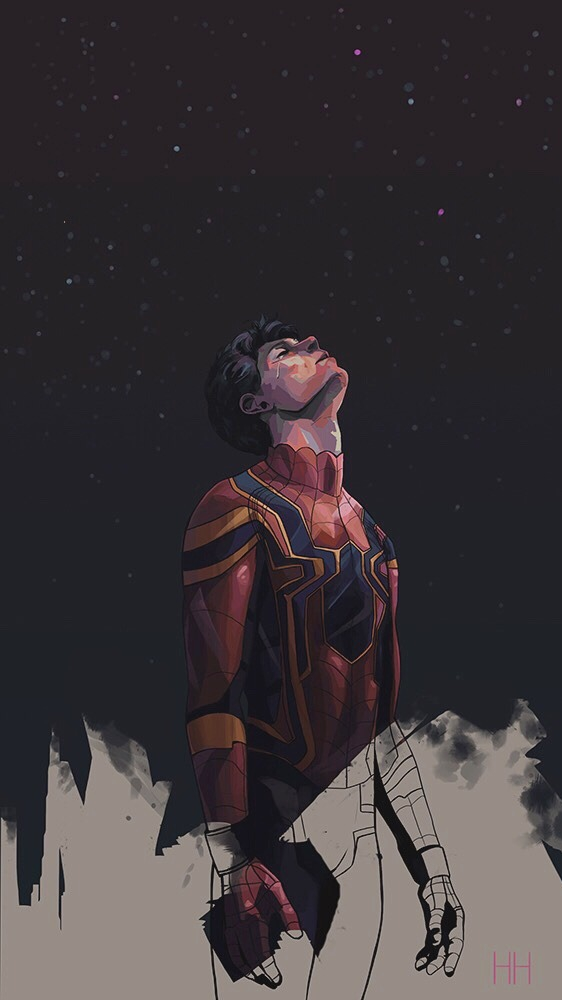 Spiderman Cry iPhone Wallpaper