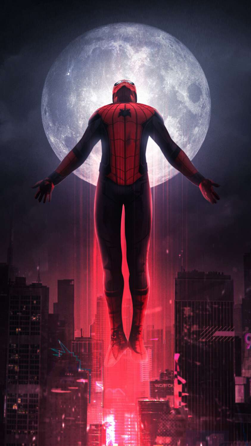 Spiderman Far From Home iPhone Wallpaper