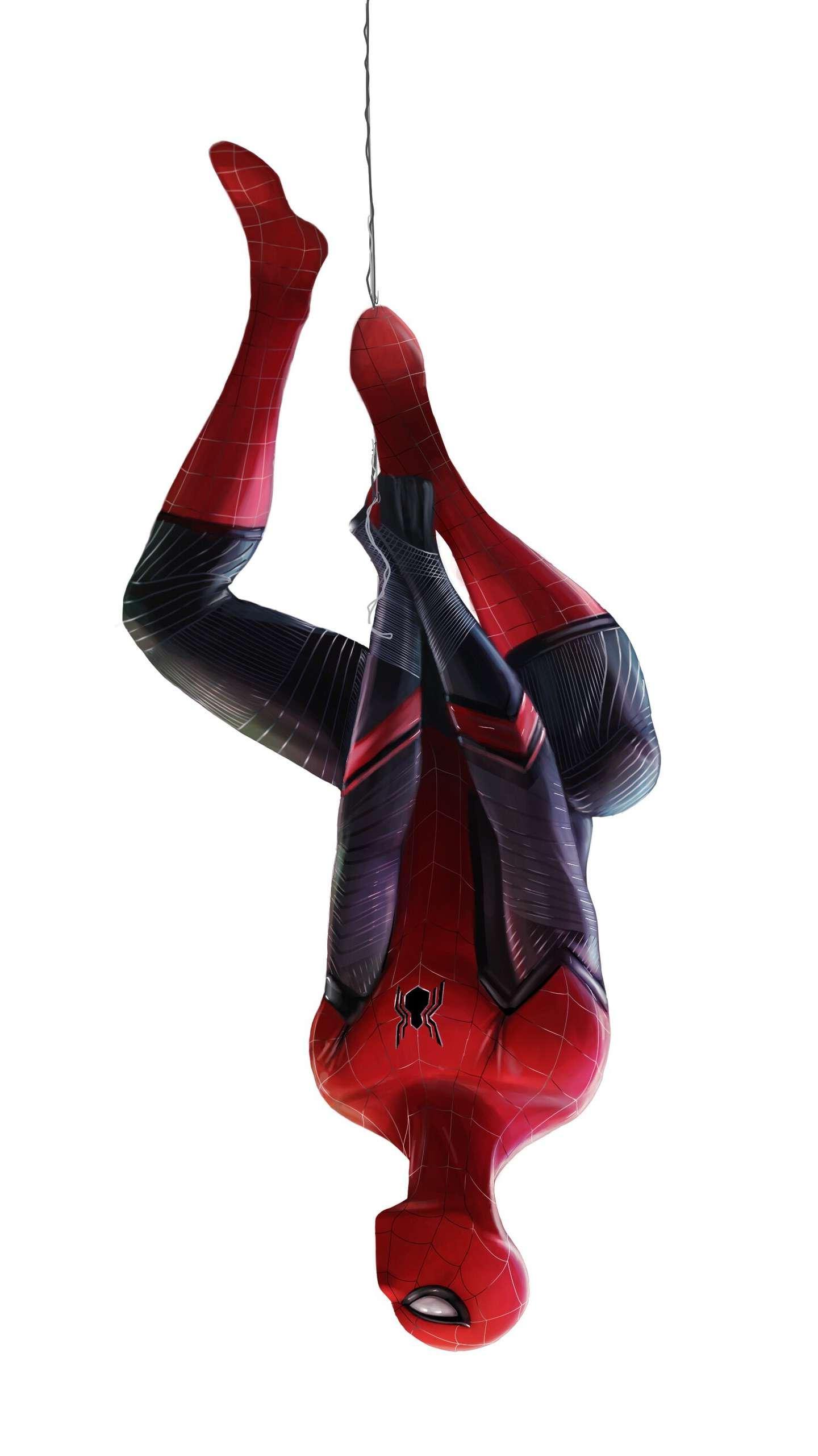 Spiderman Web iPhone Wallpaper