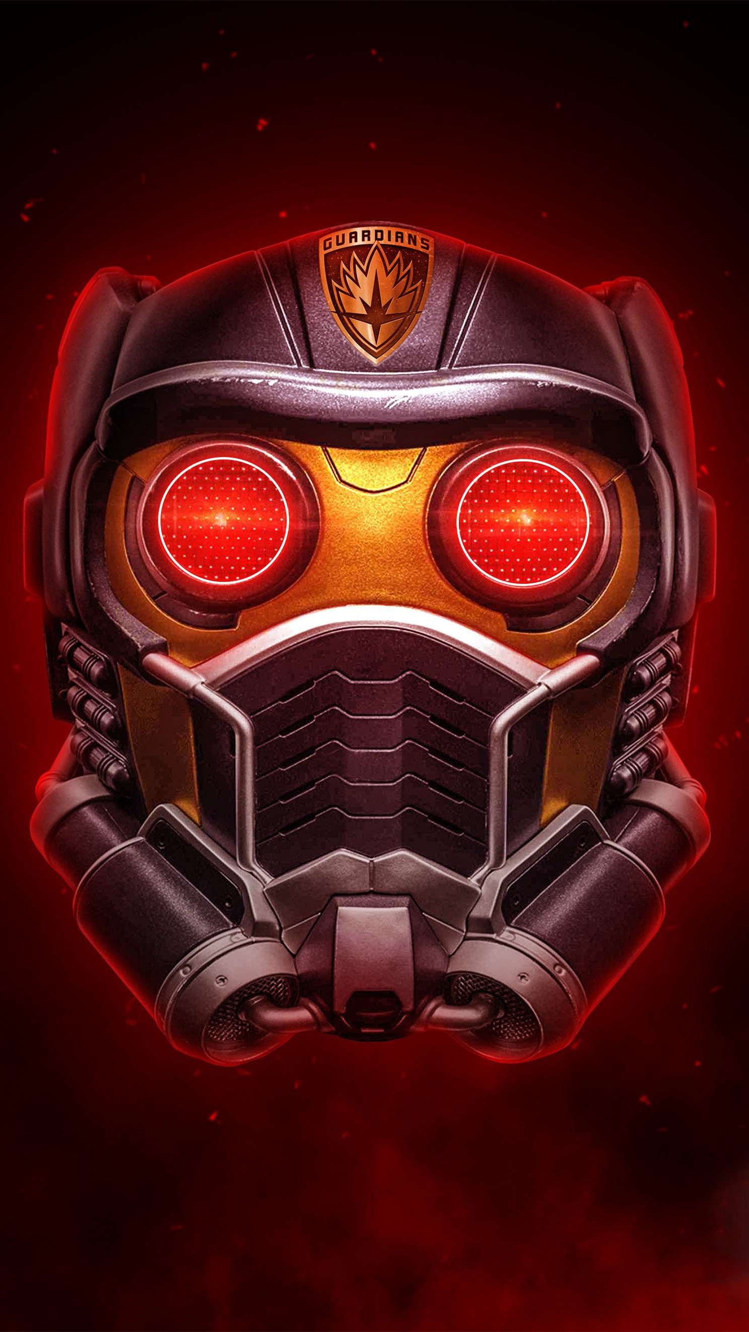 Starlord New Mask iPhone Wallpaper