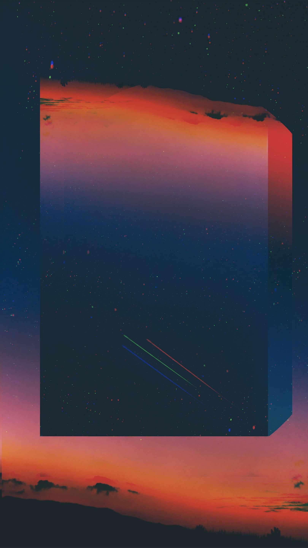 Starry Sky Art iPhone Wallpaper