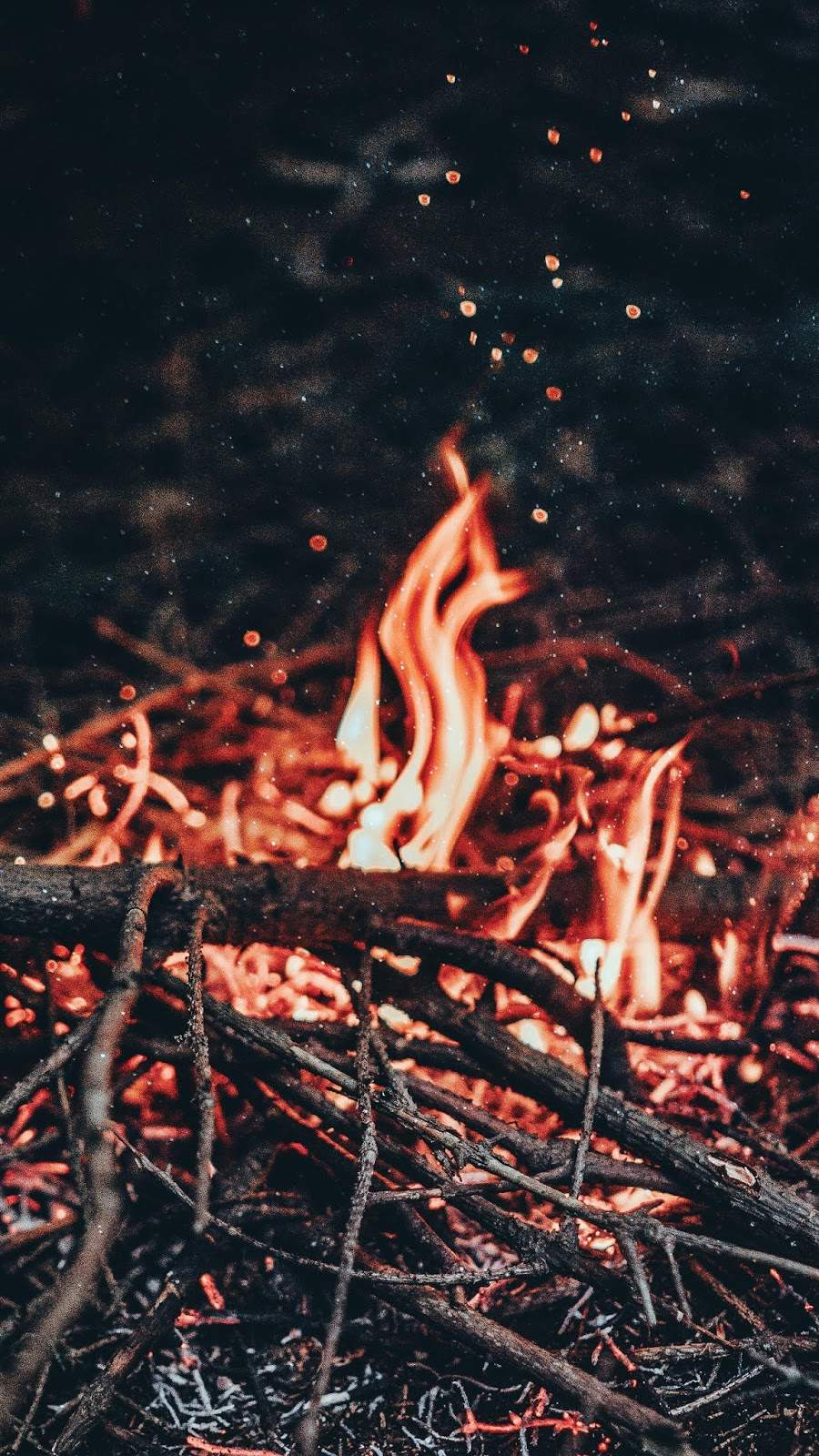 Staying Warm iPhone Wallpaper