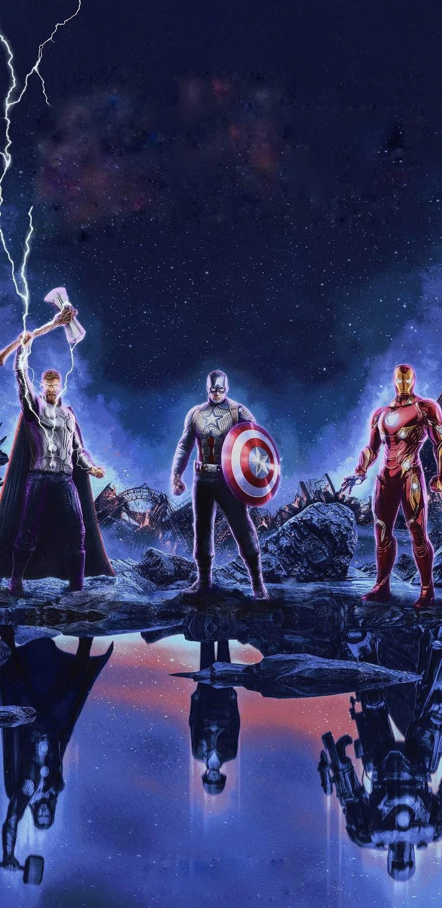 Strongest Avengers iPhone Wallpaper