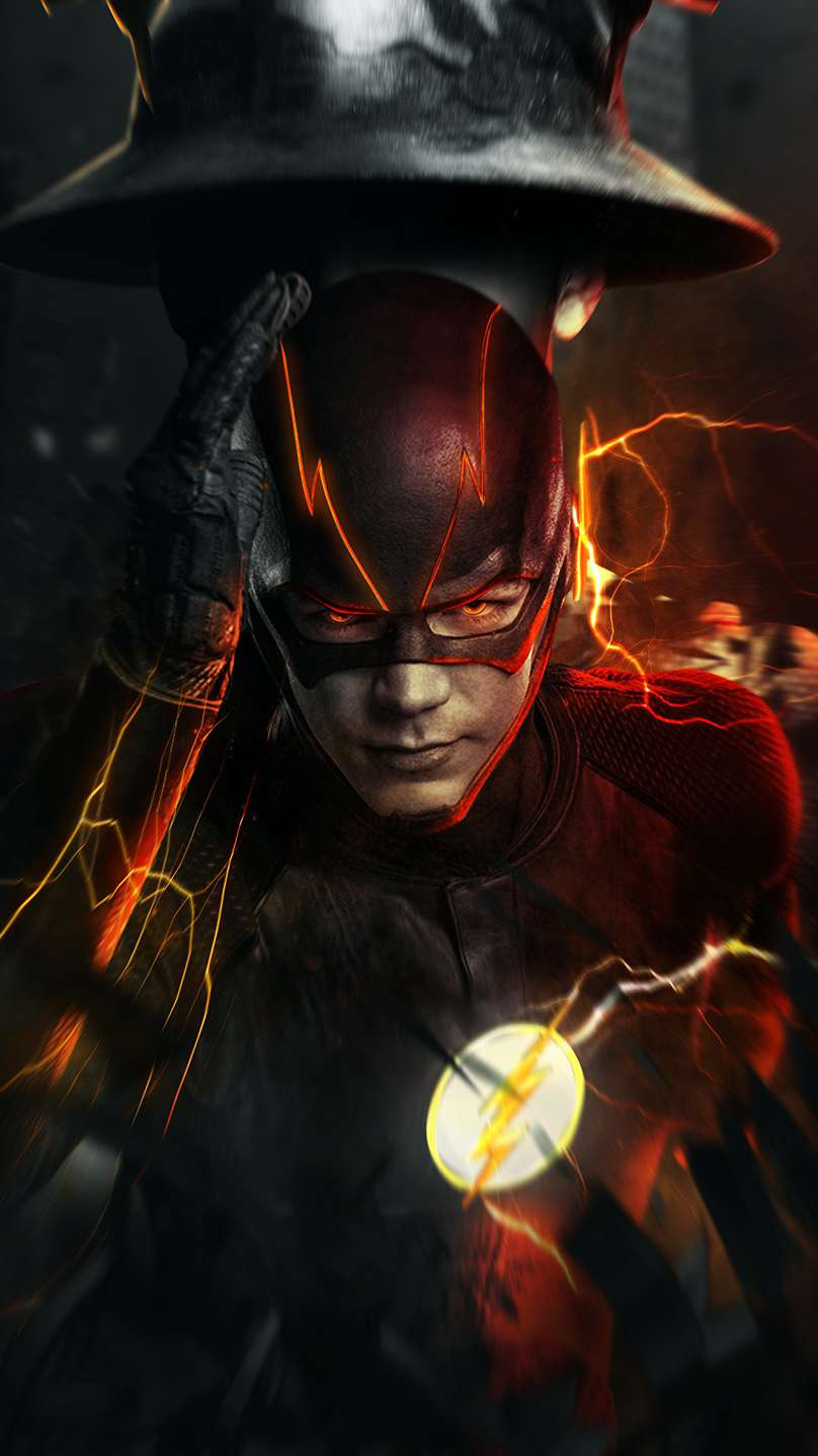 The Flash iPhone Wallpaper
