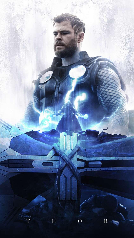 Thor God of Thunder Asgard King iPhone Wallpaper