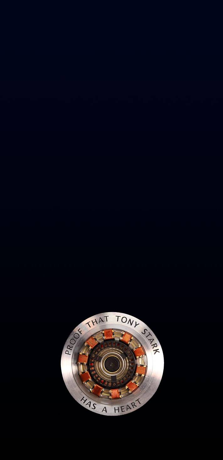 Tony Heart iPhone Wallpaper