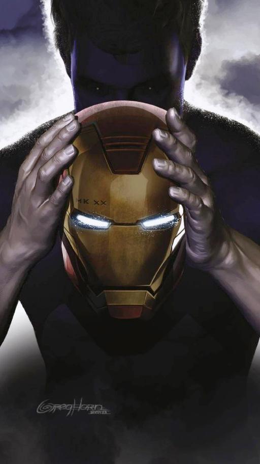 Tony Stark Iron Man MK20 iPhone Wallpaper