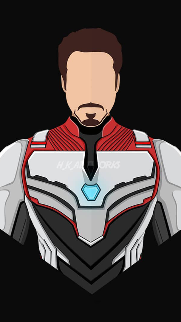 Tony Stark Quantum Suit iPhone Wallpaper