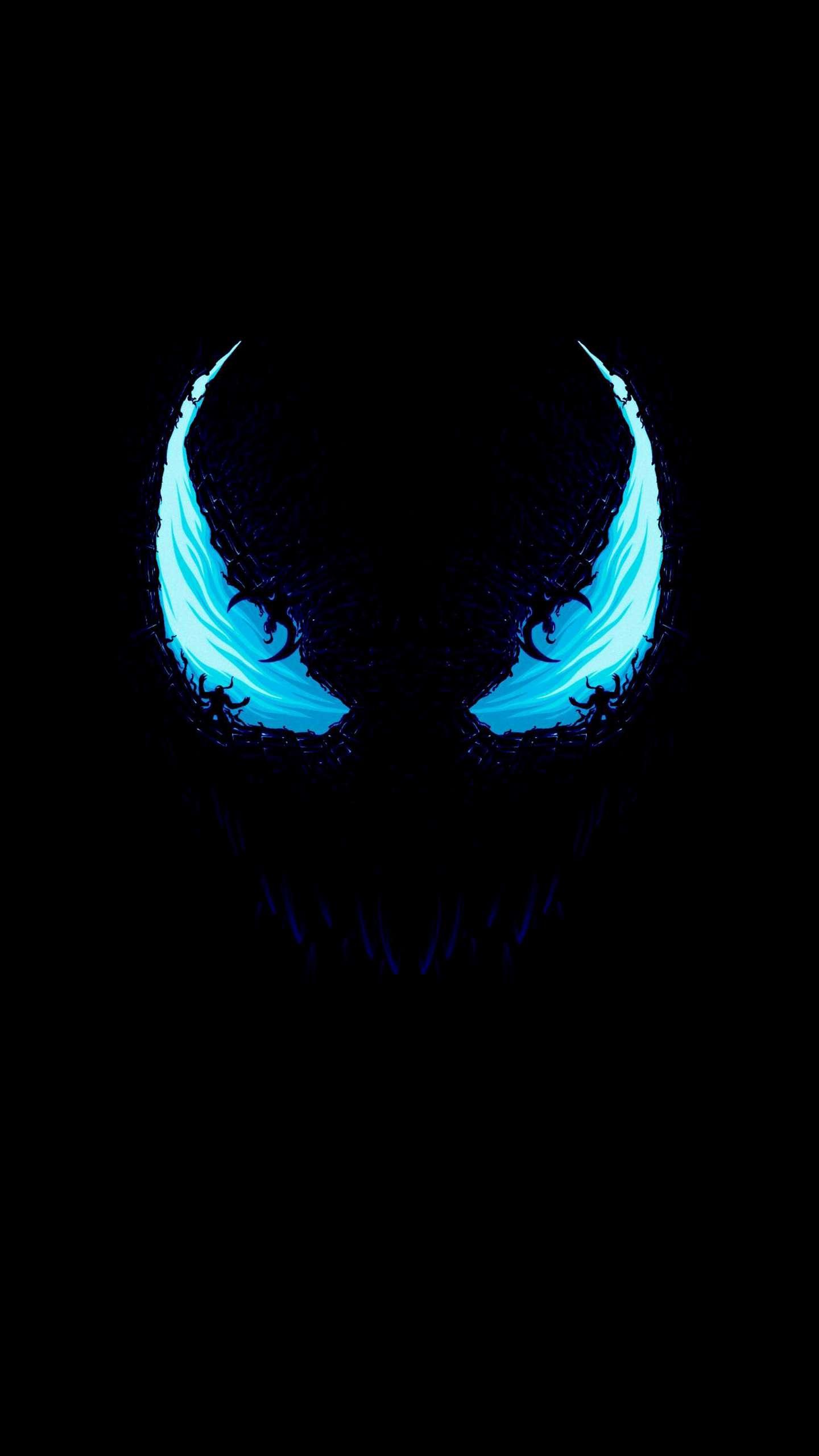 Venom Amoled iPhone Wallpaper