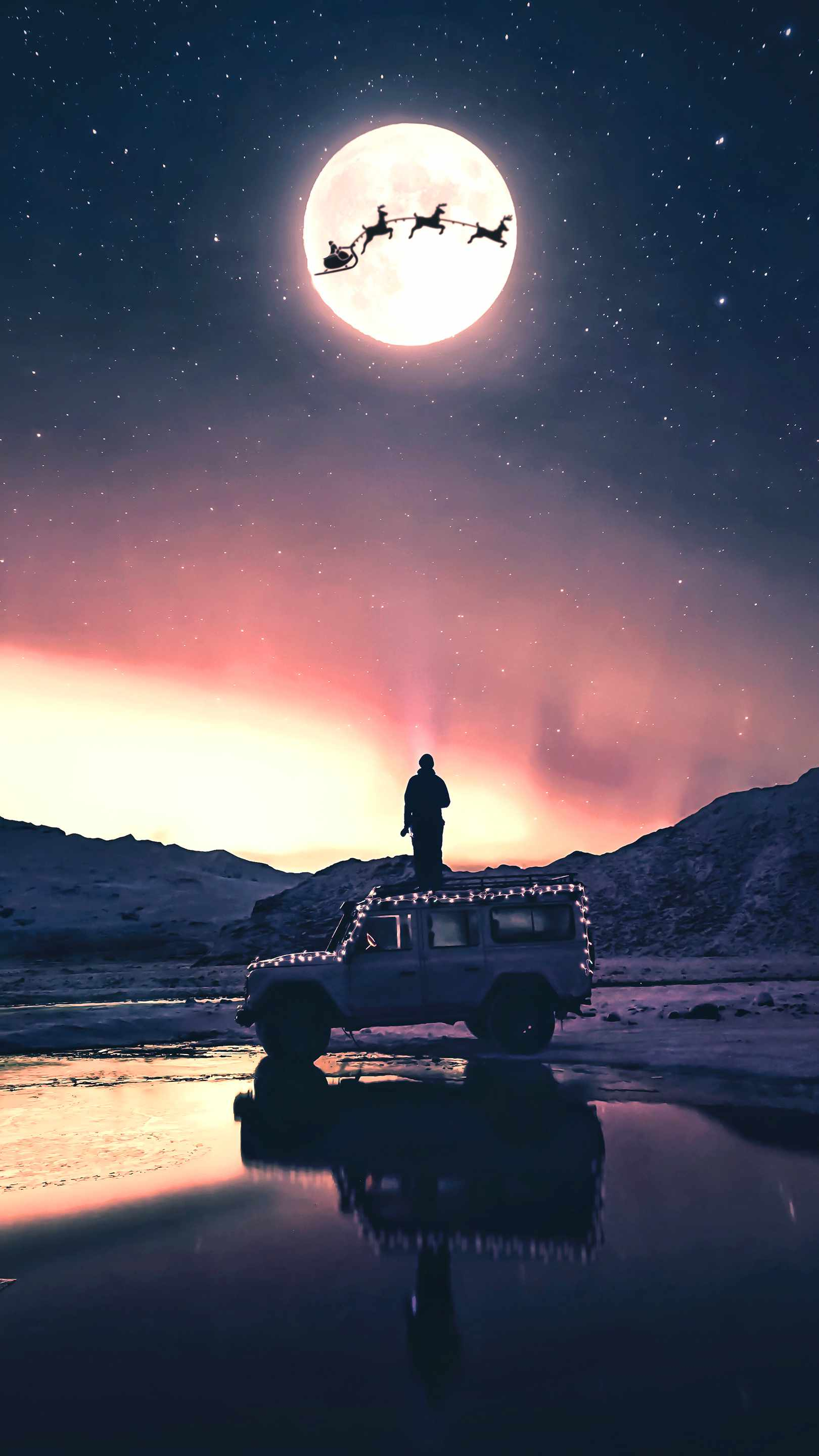 Winter Adventures iPhone Wallpaper