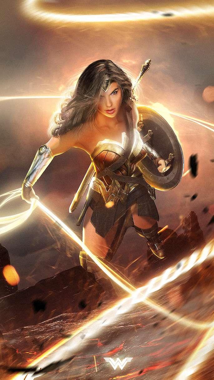Wonder Woman 2 iPhone Wallpaper