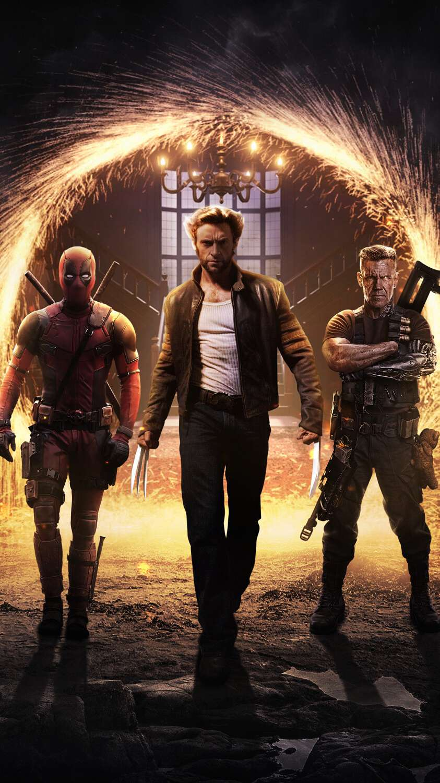 X Men Avengers iPhone Wallpaper