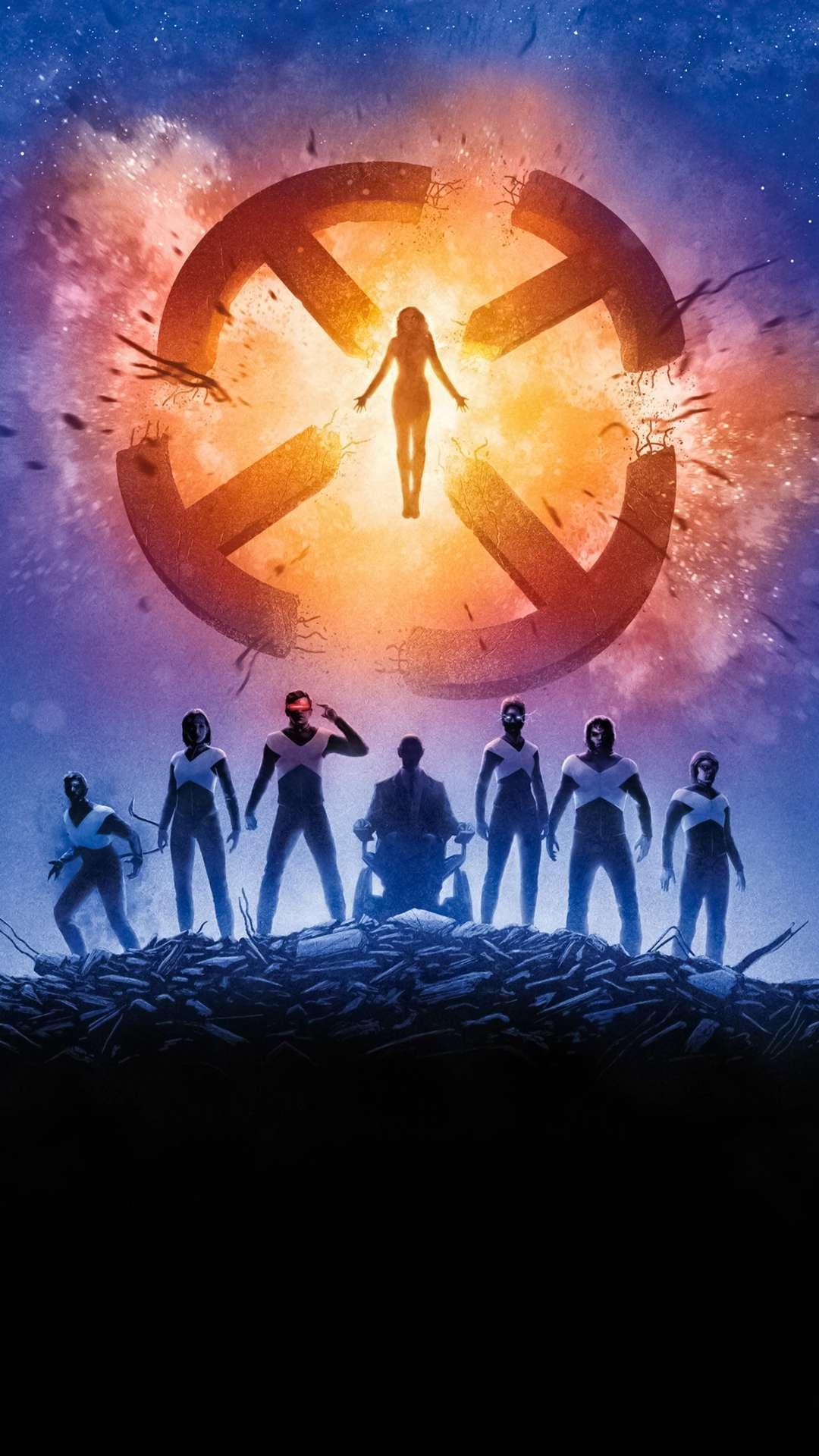 X Men Dark Phoenix Poster iPhone Wallpaper